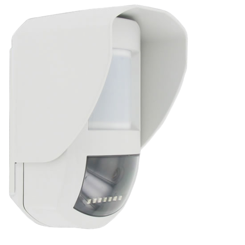Détecteur Infrarouge Extérieur Caméra Vision Nocturne Alarme Intrusion